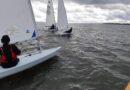 Första seglingen efter islossningen.